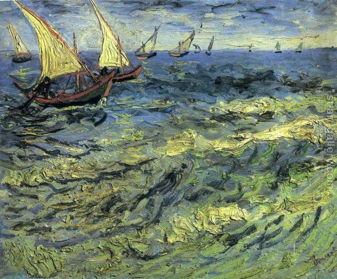 Fishing-Boats-At-Sea